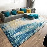 DoorMat,Mat,Kitchen Mats,Bathroom Mat,Carpet nordic,[modern],Simple,The carpet for the living room,Tea table,Sofa,European entrance Mat,Simple european bedroom bed blanket-B 63x91inch(160x230cm)