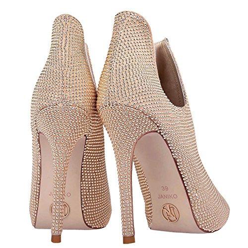 Janiko PARIS DREAM JK202 Femmes Peep-toes Beige