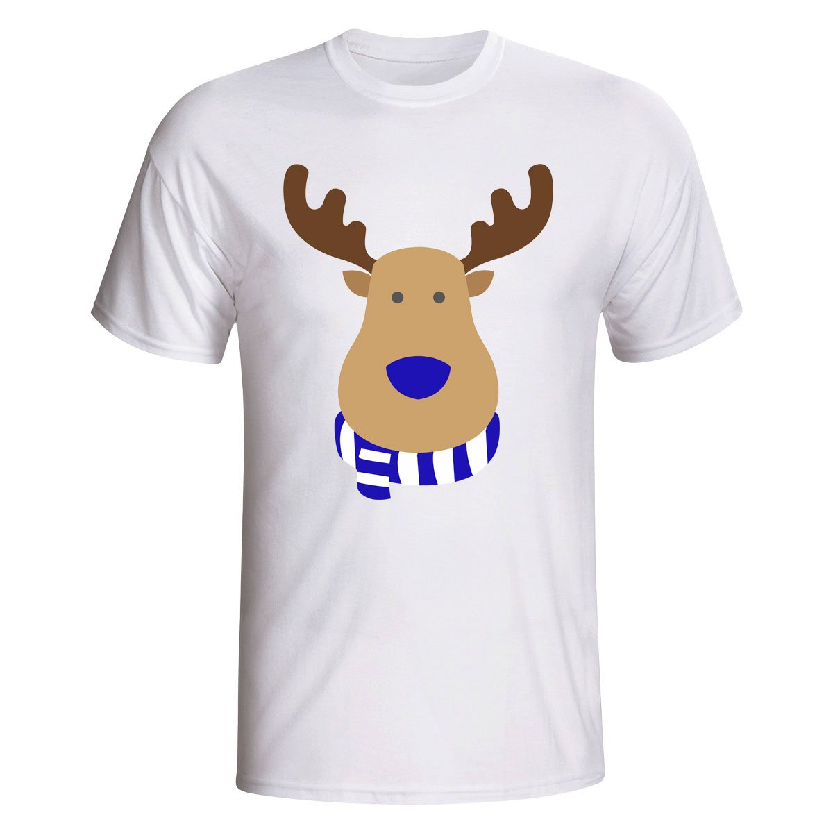 Hertha Berlin Rudolph Supporters T-shirt (white) Kids B07D8KV8MNWhite LB (9-11 Years)