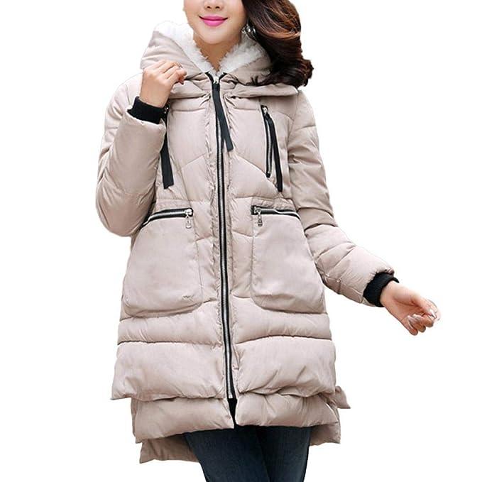 Luckycat Abrigos de Mujer Engrosamiento Abrigo de algodón Ropa de Gran tamaño Ropa de Abrigo (