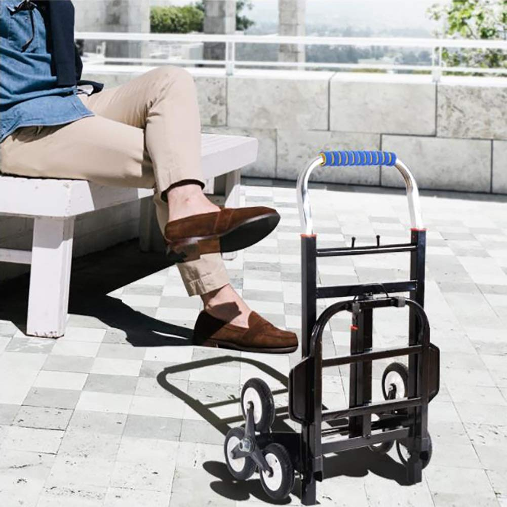 LQQGXLtrolley Practical Shopping cart Portable Trolley Household//Commercial Freight cart