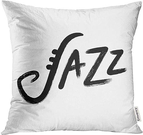 shizh Resumen Jazz Mano Letras Tinta Pincel caligrafía áspera ...
