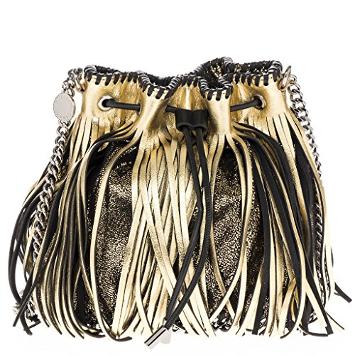Stella-McCartney-Womens-Falabella-Metallic-Leather-Fringed-Bucket-Bag-Gold