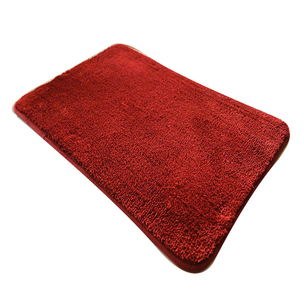 B 60CM100CM Various Styles of gold Bathroom Mats Into The Door Mat Door Mat Foyer Foyer Bathroom Absorbent Mat Bedroom Carpet (can Be Cut) (color   H, Size   45CM75CM)