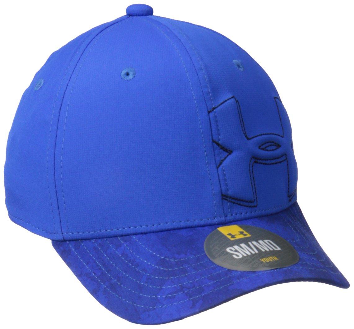 Under Armour Boy's Billboard Cap 2.0 Gorra, Niños, Azul (Ultra Blue), XS/S 1292083-907