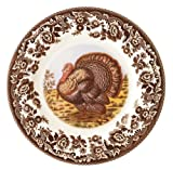 Spode Woodland Turkey Dinner Plates, Set of 4