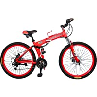 Winner Land Rover Folding bike 26 inch 24spped mountain bike red V8…
