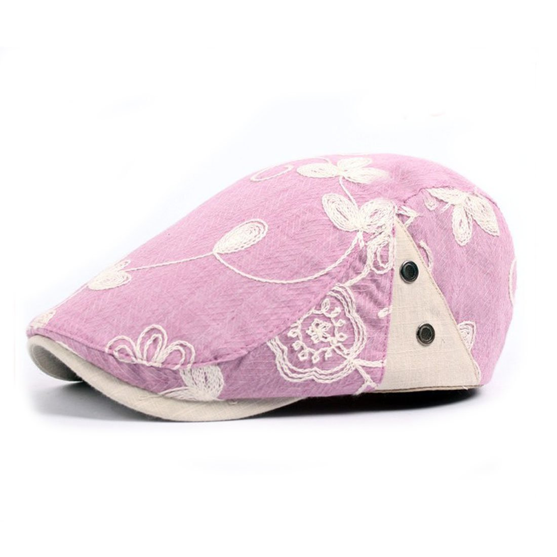 f803d94a King Star Flat Cap Gatsby Floral Embroidered Duckbill Hat Newsboy Ivy Irish  Cabbie Scally Cap Purple: Amazon.in: Clothing & Accessories