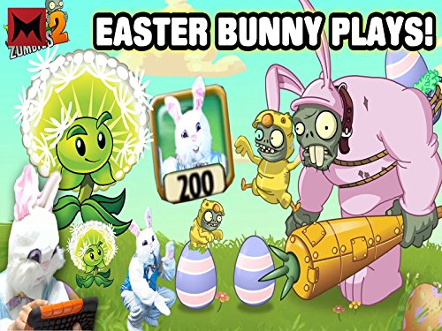 VHS : Easter Bunny Plays PvZ2