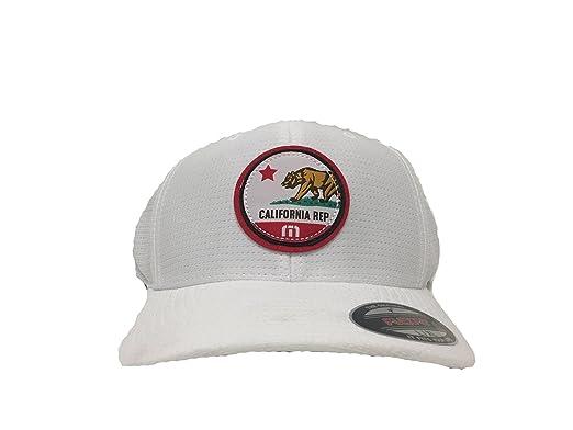 huge discount 6c173 df409 ... reduced travis mathew cali patch hat white s m 9e83c b2dd1