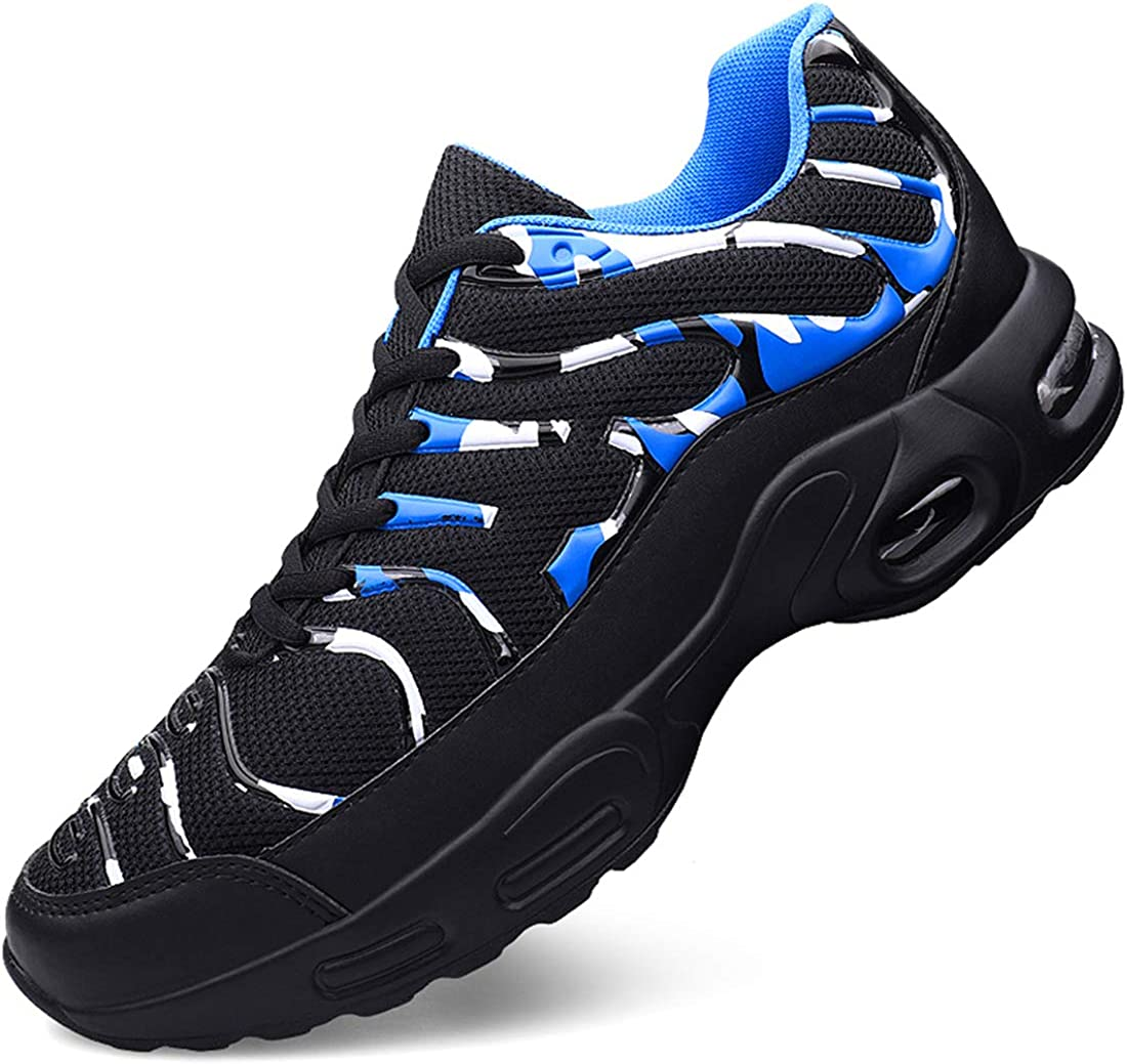 Damyuan Men s Road Running Shoes Lightweight Athletic Outdoor Sneakers Walk Sports Breathable Air Cushion Shoes