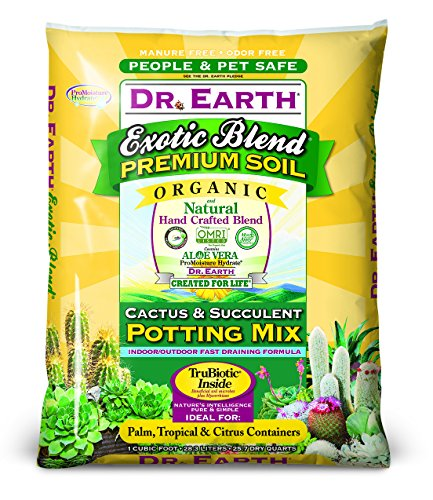 Earth Mix - Dr. Earth Exotic Blend Cactus & Succulent Potting Mix 1 Cu. Ft.