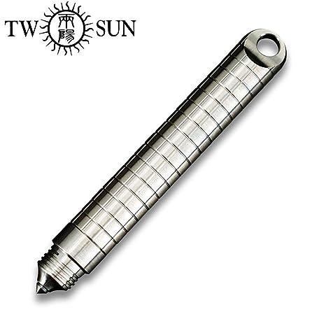 Twosun EDC Mini TC4 TS-PEN08 - Llavero táctico de aleación ...