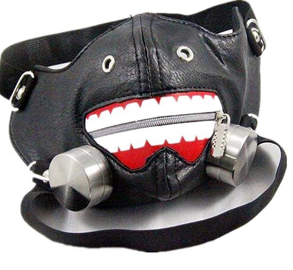Amazon.com : Jackdaine Remache Steampunk Ha. Máscara De Máscara De Rayo Máscara No Convencional De Rendimiento : Sports & Outdoors