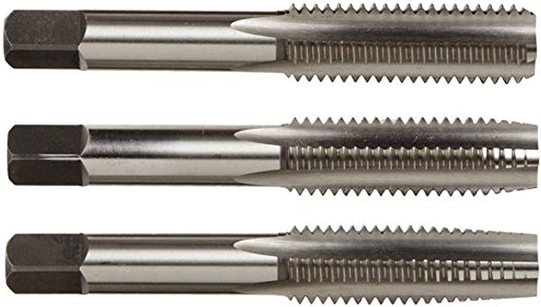 Alfa Tools CSHTS70546 3//4-10 Carbon Steel Hand Tap Set Taper//Plug//Bottom