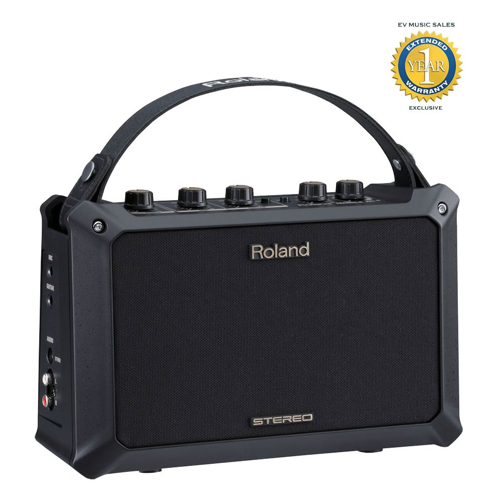 Roland MOBILE AC Acoustic Chorus Battery-Powered Acoustic Guitar Amplifier with 1 Year Free Extended Warranty
