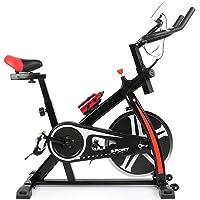 POPSPARK Bici da Spinning Ultra-Silenzioso Cyclette Bici di casa Peso Perdita Attrezzature per Il Fitness Indoor Cyclette