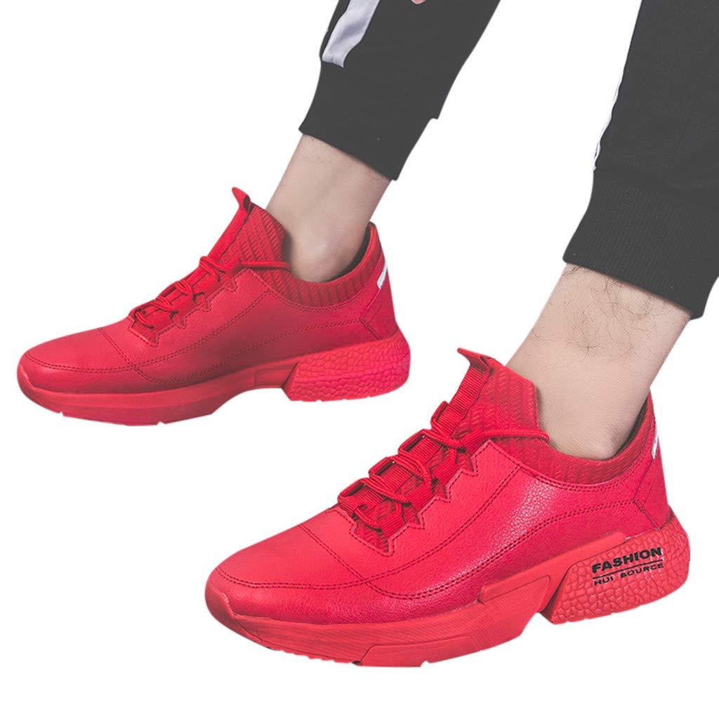Bestow Mocasines con Cordones Zapatillas de Deporte Nuevas Zapatillas Deportivas de Primavera Zapatos de Moda Masculina Casuales: Amazon.es: Ropa y ...