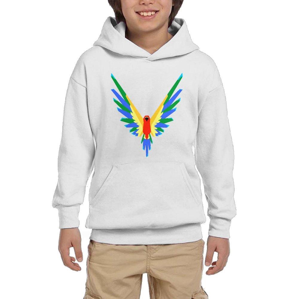 Logan Paul Fashion YouTube Maverick Parrot Logo Youth Hoodie Lin Mo Niang