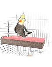 Perchoir en bois, support pour cage de perroquet, ara, perroquet gris, perruche, conure, hamster, gerbille, rat, souris