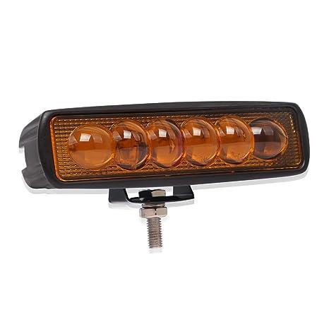 Barra de luces LED 18W 3000K Luces de trabajo led Luces de ...