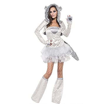 Sexy Wolf Costume Animal Women Costume Women s Cosplay Costume Ballerina  Tutu Dress Fancy Dress Costume  Amazon.co.uk  Toys   Games 31c22aa45