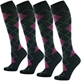 Knee High Dress Socks,SUTTOS Unisex Men's Women's