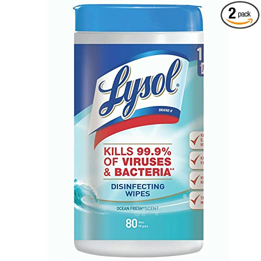 HOT!* Amazon – Lysol Disinfecting Wipes, Ocean Fresh, 160ct