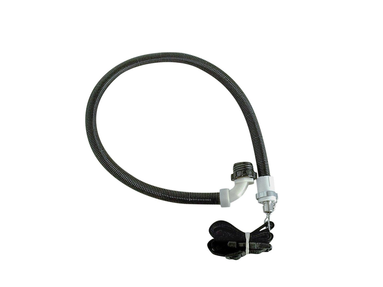 Breathing tube for mask/sandblast hood