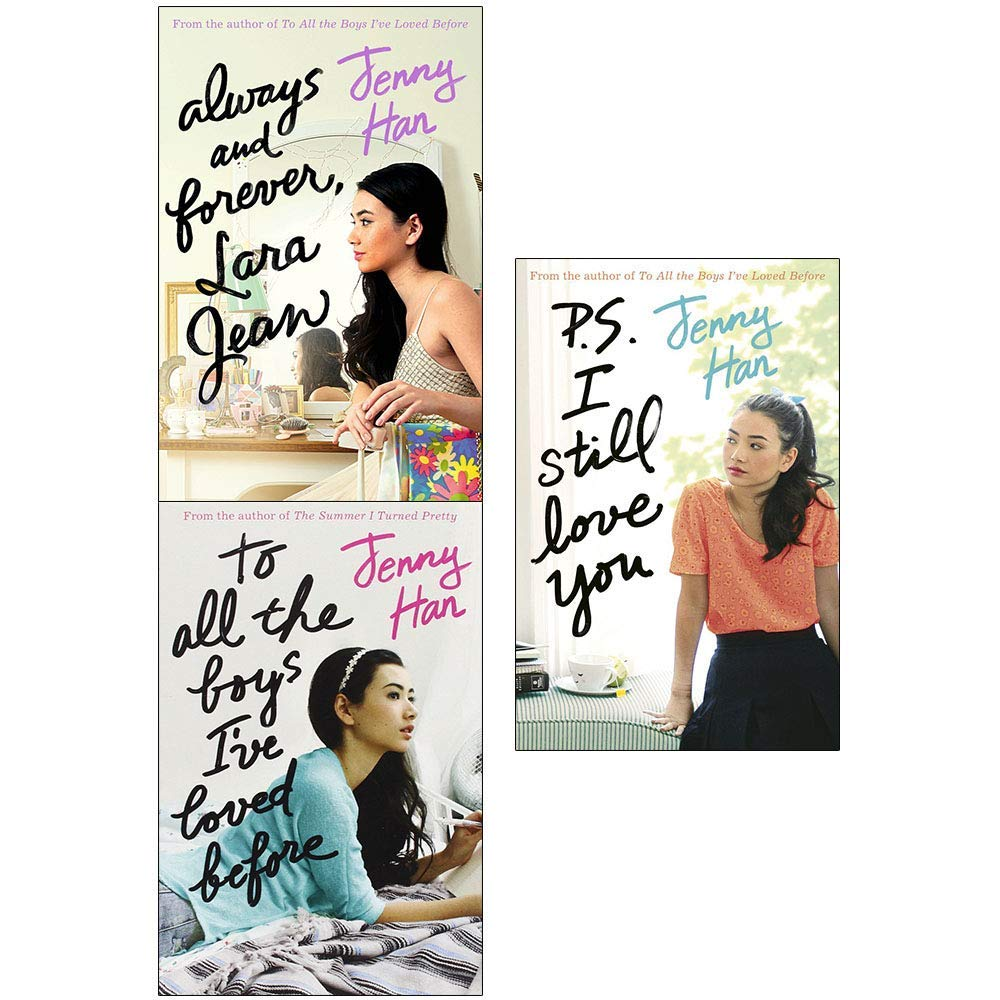 Always and forever, lara jean, to all the boys i've loved before and p.s. i  still love you 3 books collection set: Jenny Han: 9789123715855:  Amazon.com: Books