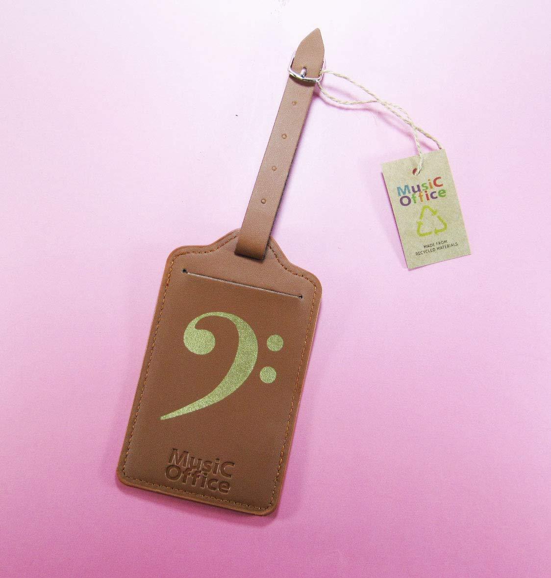 incluye etiqueta de identificaci/ón accesorios para equipaje Correas para maletas de Music Office