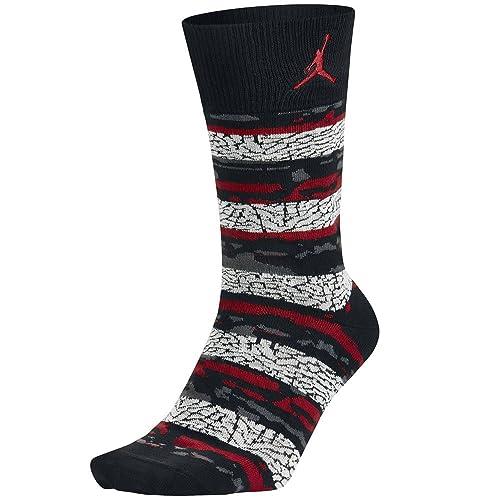 Nike Air Jordan Hijo of Mars para Hombre Calcetines (Negro/Rojo) 8 - 12: Amazon.es: Zapatos y complementos