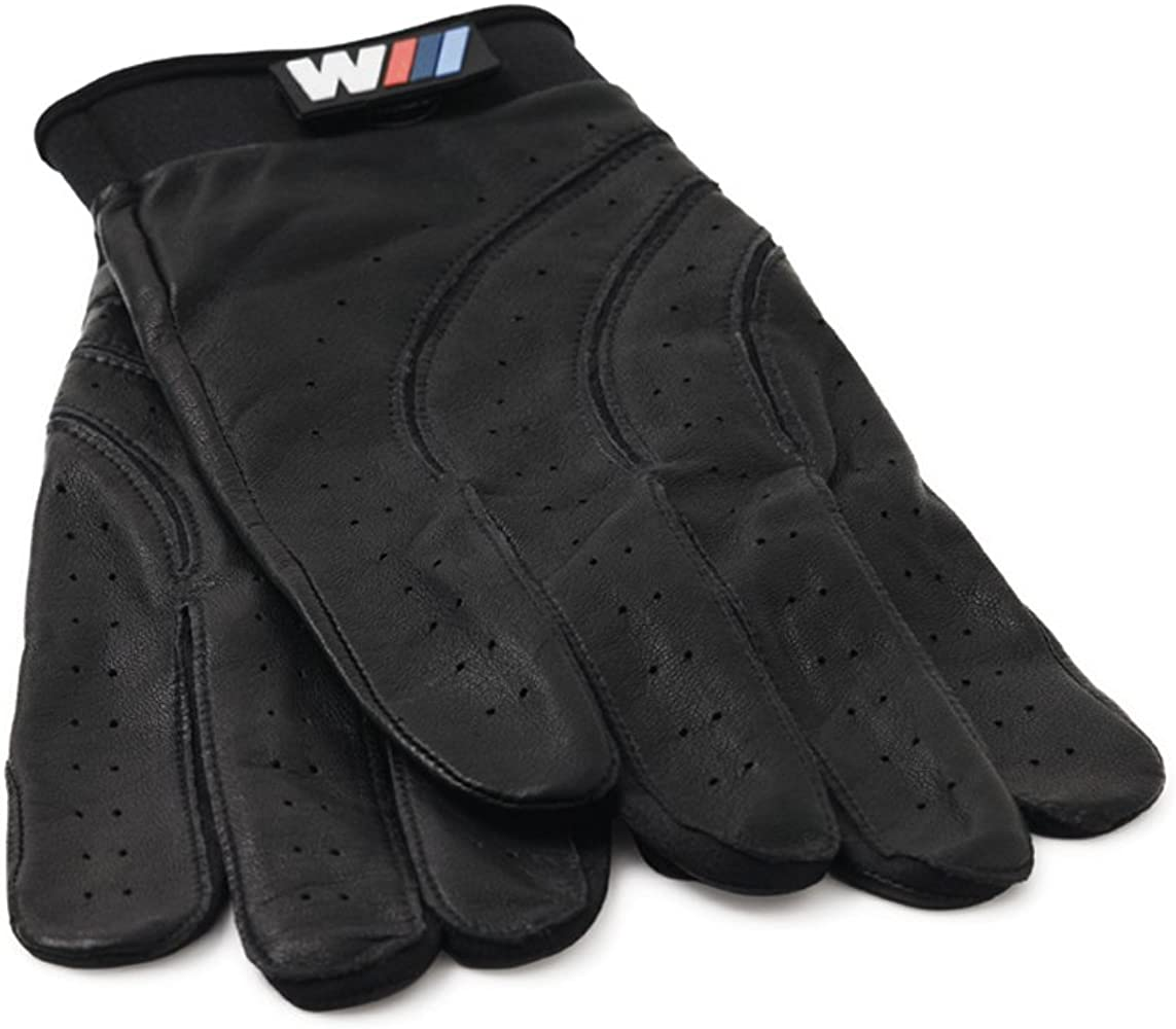 BMW Genuine M Driving Gloves Black Leather Mens Small NEW