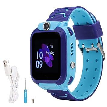 ASHATA Niños Smartwatch Phone Reloj para niños LBS Posicionamiento ...