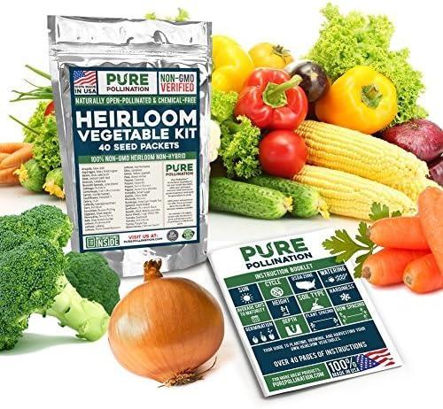16,500-Non-GMO-Heirloom-Vegetable-Seeds-Survival-Garden-40-Variety-Pack
