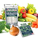 16,500 Non GMO Heirloom Vegetable Seeds Survival