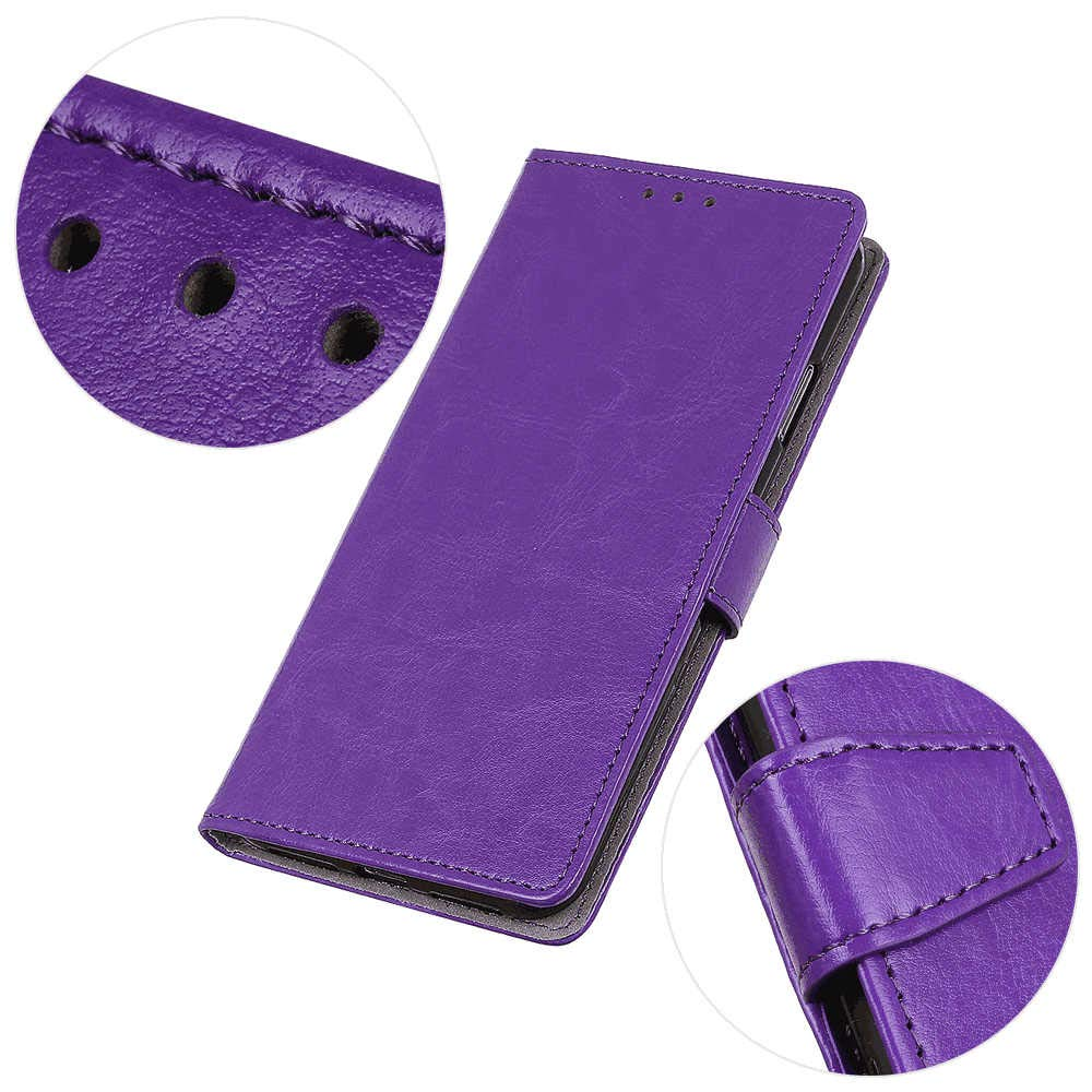 Simple Flip Case Fit for Samsung Galaxy S20 Ultra Black Leather Cover Wallet for Samsung Galaxy S20 Ultra