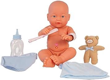 Amazon.es: Muñeca bebé recién nacido Newborn Baby, niño, con 30 ...