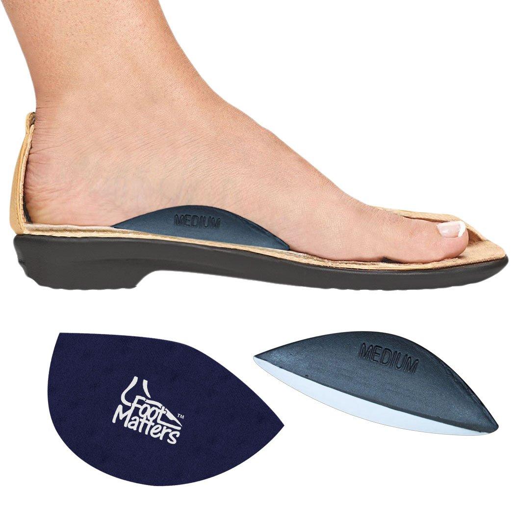 Grand FootMatters Coussins de soutien de la vo/ûte plantaire 2 paires