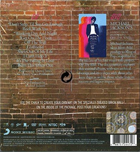 6ad83a0774 Michael Jackson - Off The Wall (CD DVD) - Amazon.com Music