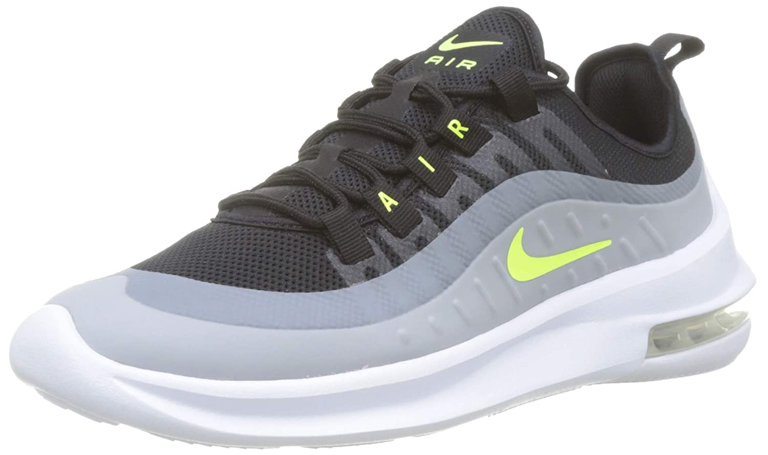 Nike Air Max Axis Mens Running Trainers Aa2146 Sneakers Shoes (10, BlackVolt Wolf Grey Anthracite)
