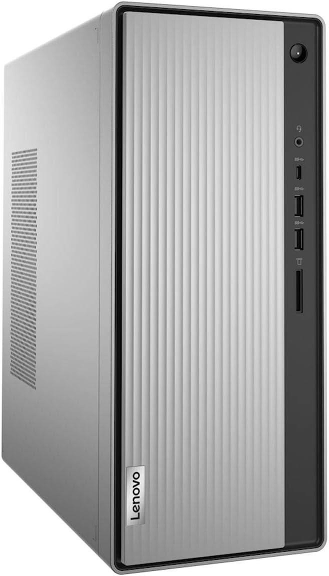 Lenovo IdeaCentre 5 Desktop Computer, Intel Core i3-10100 3.60GHz, 8GB RAM + 16GB Optane Memory, 1TB HDD, Windows 10 Home