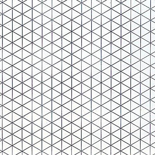 平面構成シート 三角眼シート 縦長 B3判 20枚組 ケント紙