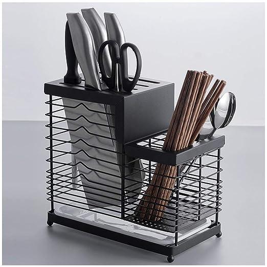 BHDYHM Porta Cuchillos, Cuchillo de Cocina Cubiertos de ...