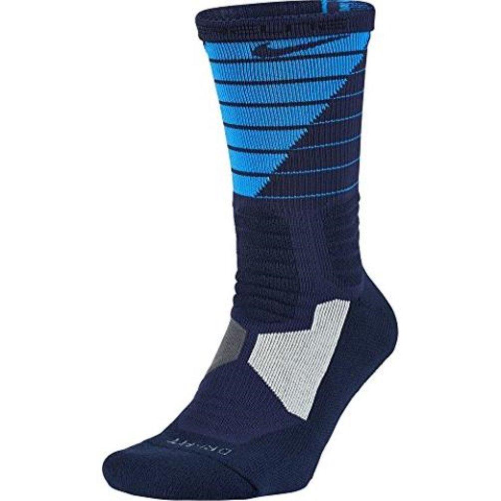 Nike para Hombre Hyper Elite Disruptor Baloncesto Calcetines, Azul/Azul Marino: Amazon.es: Deportes y aire libre