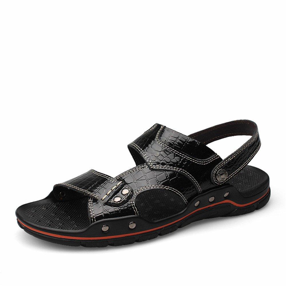 Sandalias de Deporte para Hombre Zapatos de Senderismo de Verano al Aire Libre 46 EU|Negro
