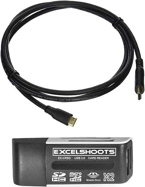 Cable HDMI para cámara Canon EOS 90D, de Alta Velocidad 4K Mini HDMI a HDMI Cable para cámara Canon EOS 90D DSLR, 6 pies Chapado en Oro.: Amazon.es: Electrónica