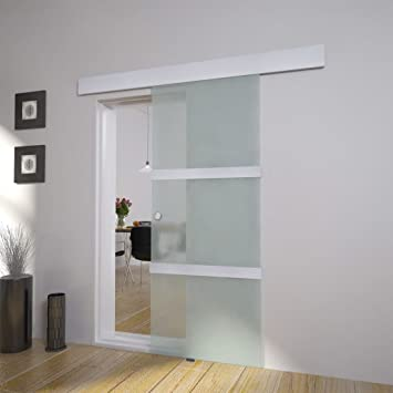 Roderick - Puerta corredera de cristal para puerta corredera ...