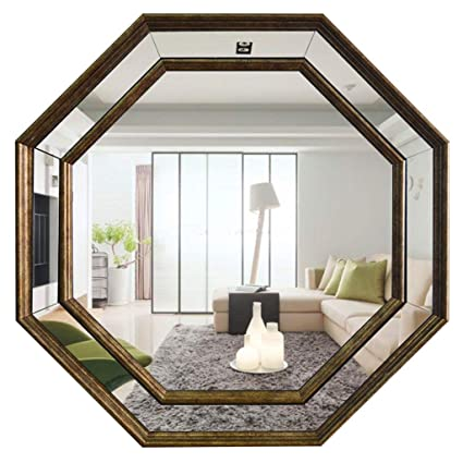 Amazon Com Joahchen Wall Mirror Octagon Hallway Mirror Bathroom