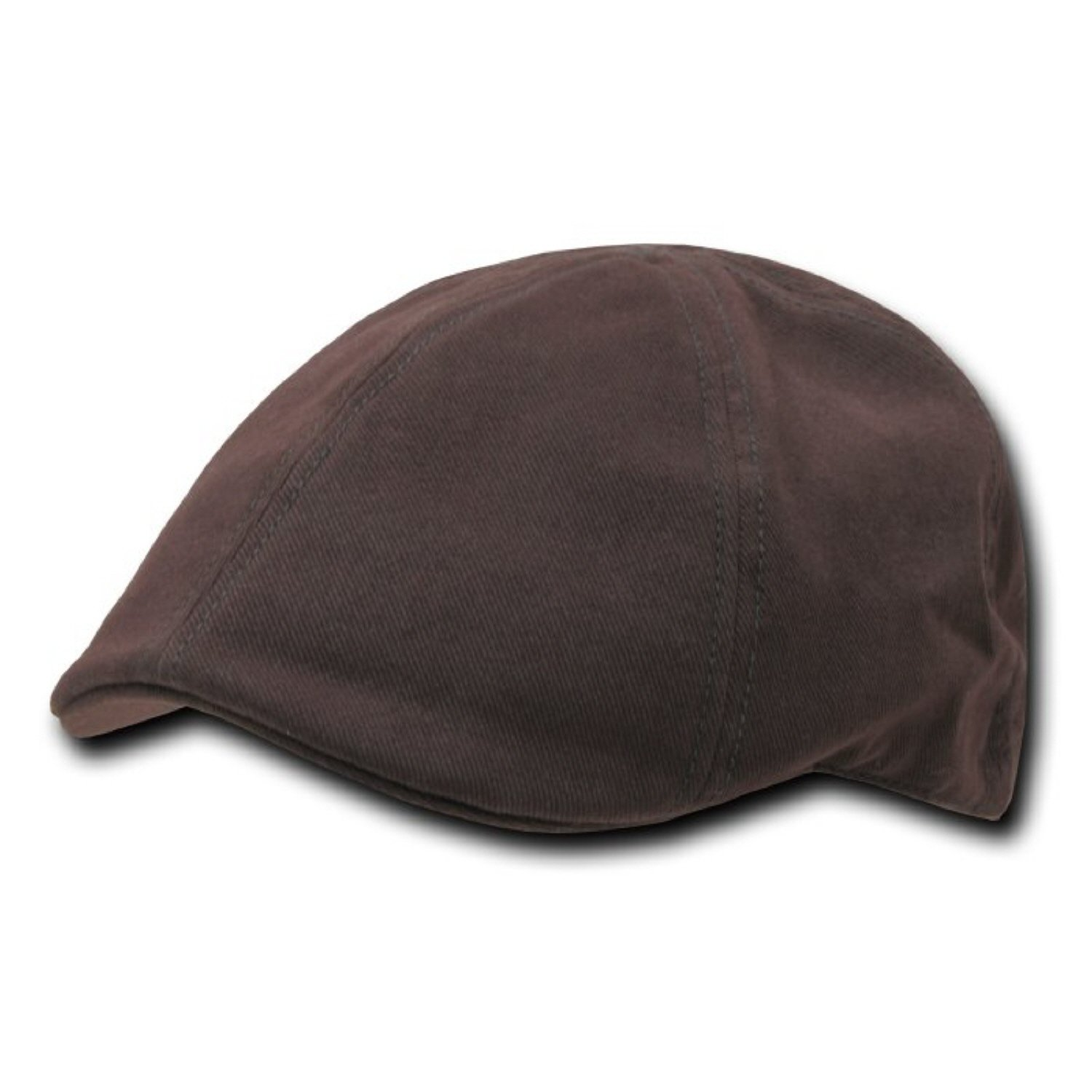 BROWN, L // XL DECKY Brushed Twill Ivys Hat